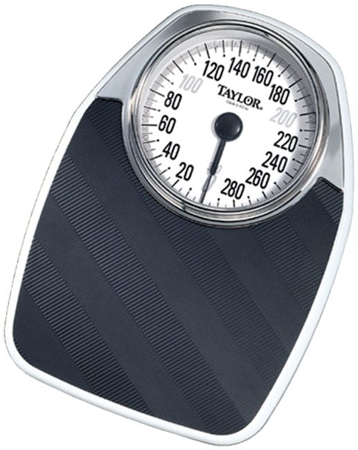 Taylor 1550 Large Dial Bathroom Scale