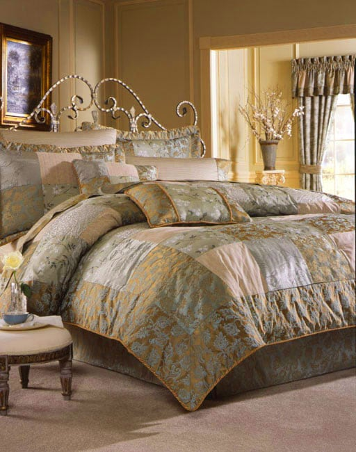 Overstock Bedroom Sets: Croscill Vivian Luxury Comforter Set