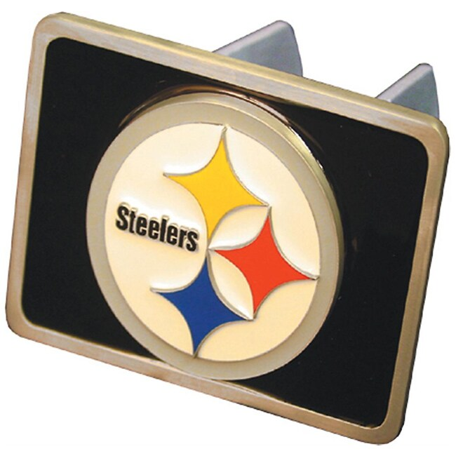 2197ef47b2b487 Pittsburgh Steelers Hitch Cover on PopScreen