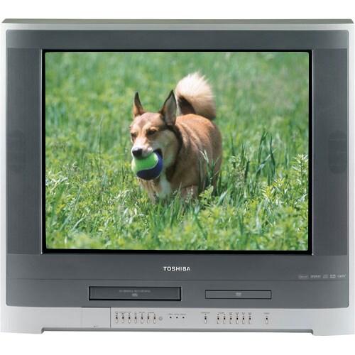 toshiba 27 inch flat screen tv w dvd vcr combo refurbished 10709698. Black Bedroom Furniture Sets. Home Design Ideas