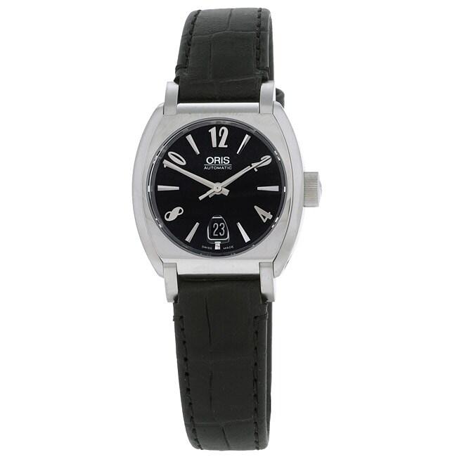Oris Frank Sinatra Women S Black Automatic Watch