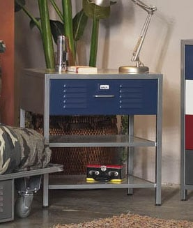 Boy S Locker Nightstand 10741521 Overstock Com