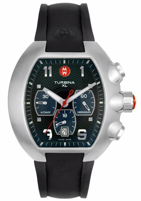 Michele Men S Turbina Xl Chronograph Watch 10756094