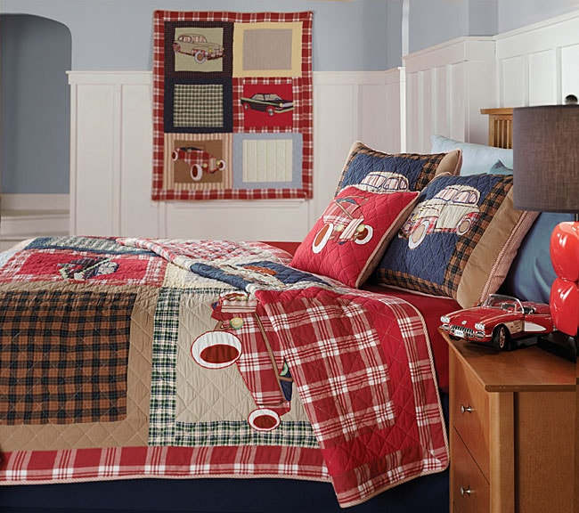 Classic Car Comforter Set