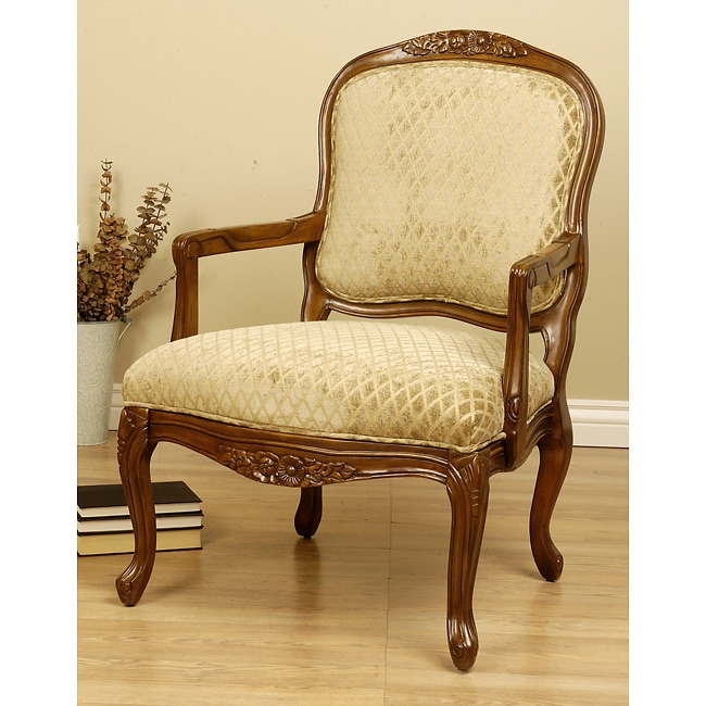 Sage Pattern Accent Chair: Diamond Sage Accent Chair