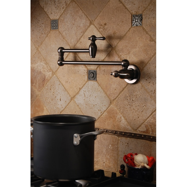 Fontaine Transitional Style Pot Filler Faucet - Overstock