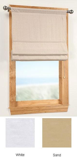 Twill 30 Inch Soft Roman Window Shade 10809899