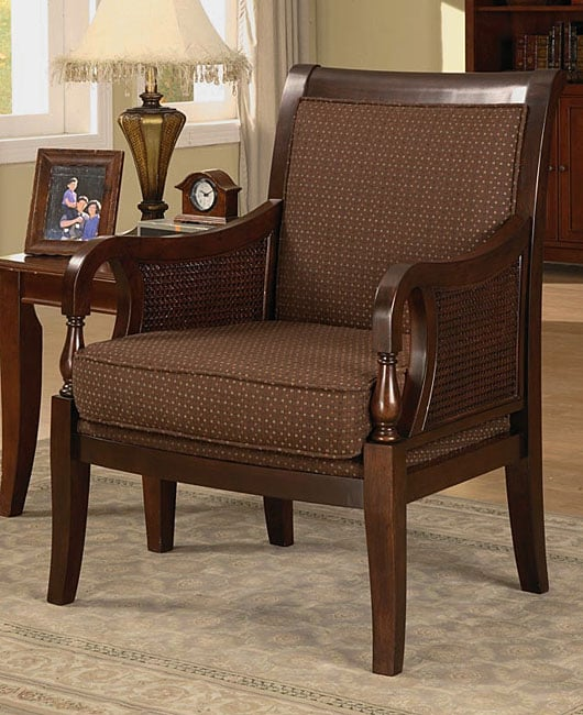 Confection Cane Accent Chair 10810117 Overstock Com