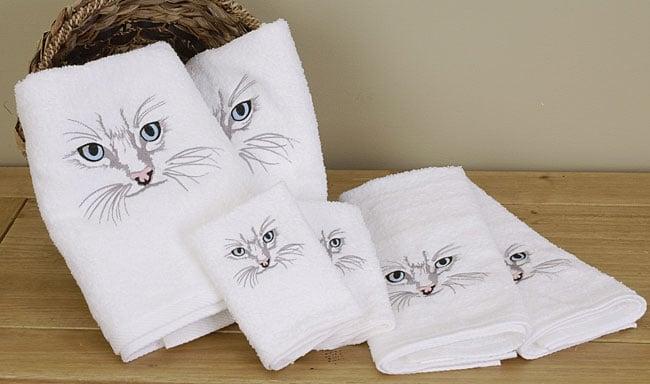 Vohann Cat Eyes Towels Set Of 6 10816475 Overstock