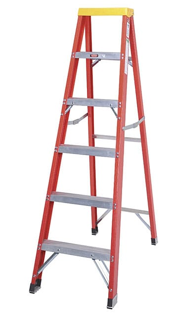 Type 1aa Fiberglass 6 Foot Step Ladder 10850287