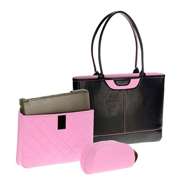 a29dbb5402 Nunzia Designer Tuscany Pink Womens Laptop Tote on PopScreen