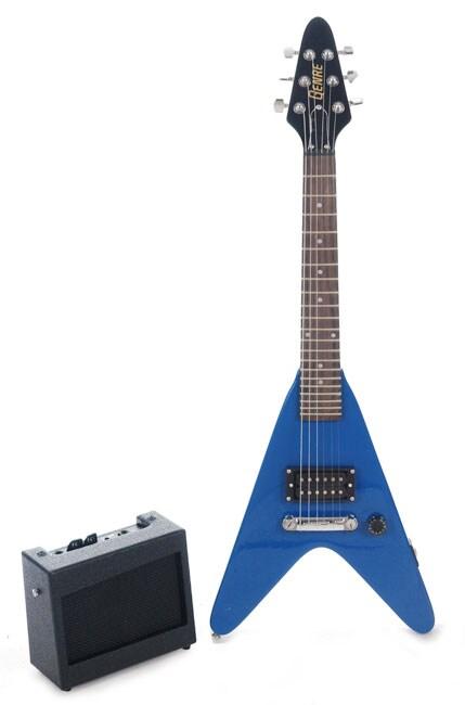 gibson genre mini v electric guitar kit overstock shopping big discounts on acoustic guitars. Black Bedroom Furniture Sets. Home Design Ideas