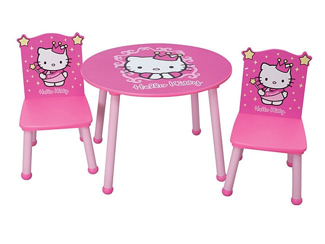 Hello Kitty Princess Table And Chair Set 11079315