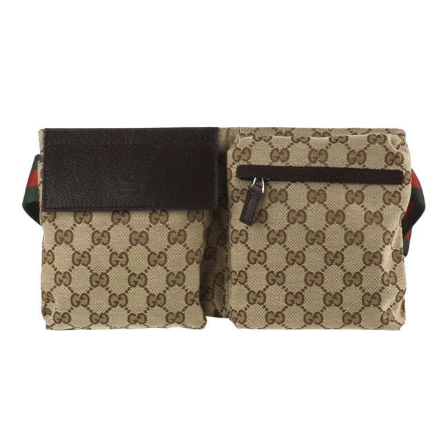 0078321cc73c Gucci Jacquard Guccissima Logo Waist Bag Belt - 11126816 - www.jcna.com  Shopping