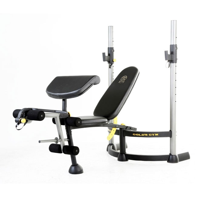 Gold S Gym Power Series Bench 11188458 Overstock Com