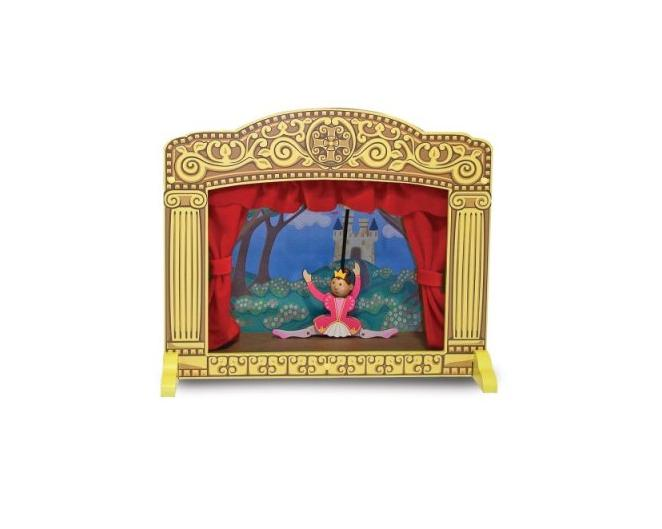 Melissa And Doug Tabletop Puppet Theater 11194327