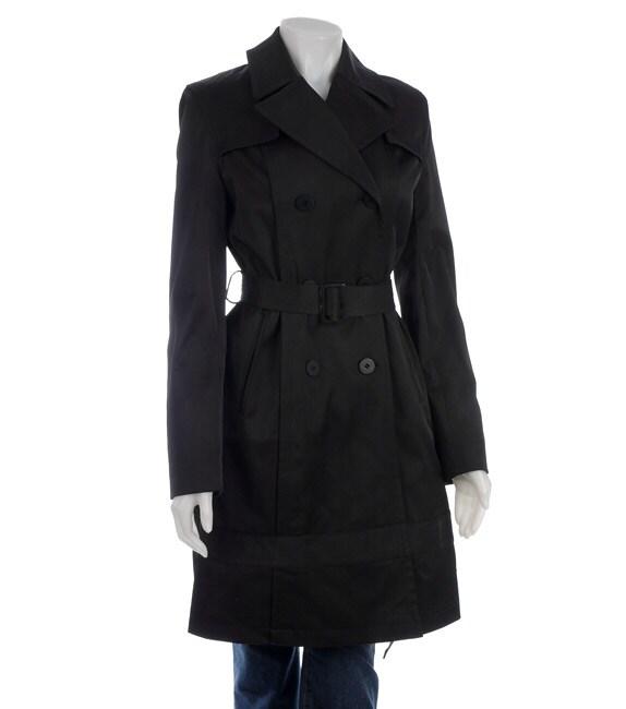 Dkny Women S Black Classic Trench Coat 11198589