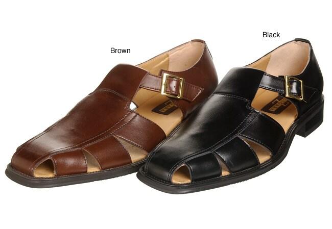 Zengara Men U0026 39 S T-strap Sandals - 11200389