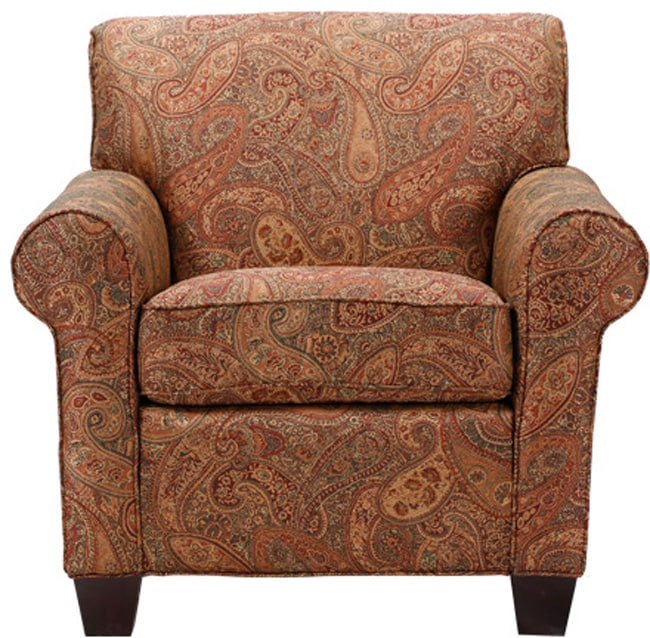 Mira 8 Way Hand Tied Paisley Arm Chair Overstock