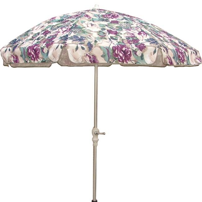 Purple Green 7 5 Foot Patio Umbrella 11298700