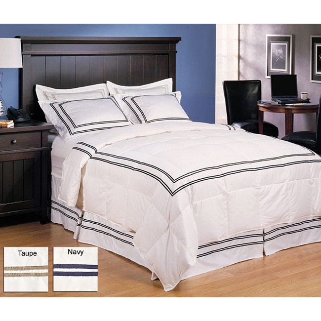 Reviews On Hotel Collection Bedding: Hotel Collection 3-piece Down Comforter And Sham Set