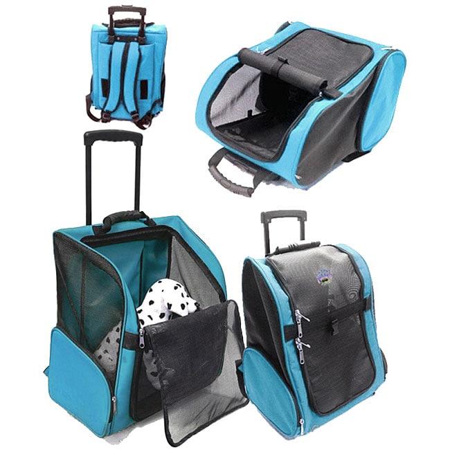 Jlt Rolling Deluxe Pet Carrier 11362128 Overstock Com