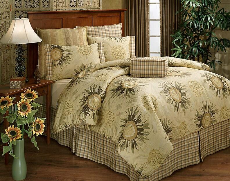 Sunrise Sunflower 4 Piece Comforter Set 11366794