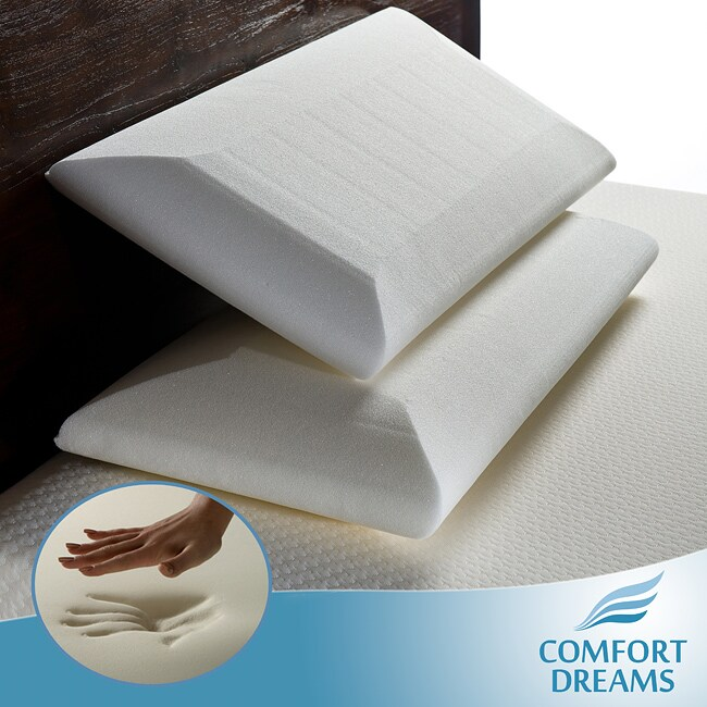 Comfort Dreams Crowned Classic King Size Memory Foam