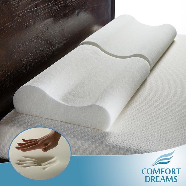 Comfort Dreams Oversized Memory Foam Contour Pillows Set