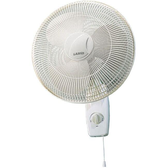Lasko 16 Inch Oscillating Wall Mount Fan 11389881