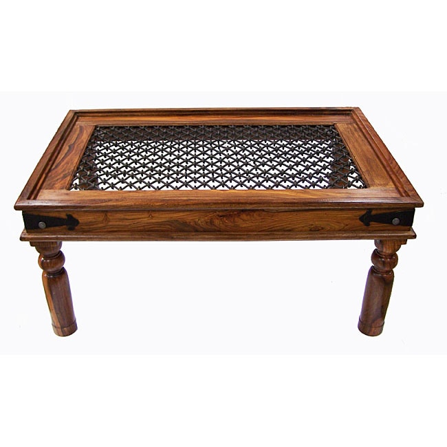 Rustic Indian Rosewood Coffee Table India 11402368