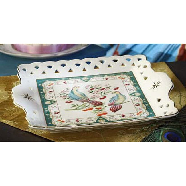 American Furniture Warehouse Mail: American Atelier Paradise 10-inch Square Tray