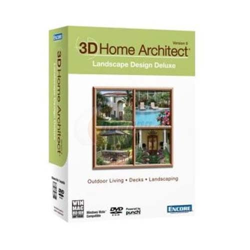 PC-3D Home Architect Landscape Design Deluxe 9