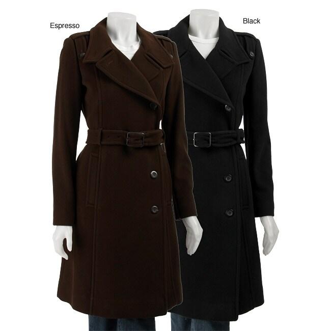 Cole Haan Women S Wool Cashmere Trench Coat 11443055