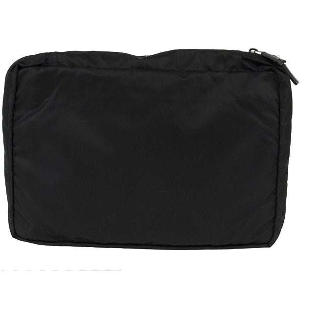 Prada Black Nylon Large Travel 90