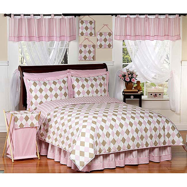 Teen Bedding Pink And Brown 30