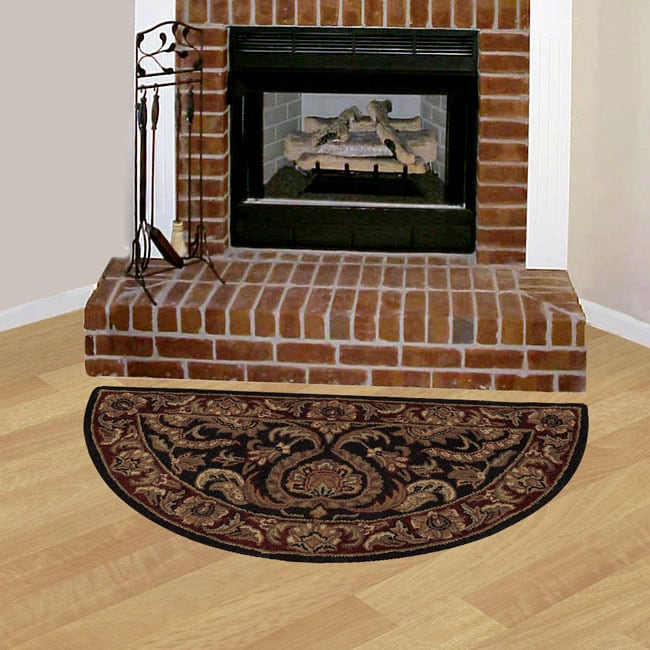 Set Of Two Hand Tufted Hearth Rugs 2 X 4 1145293