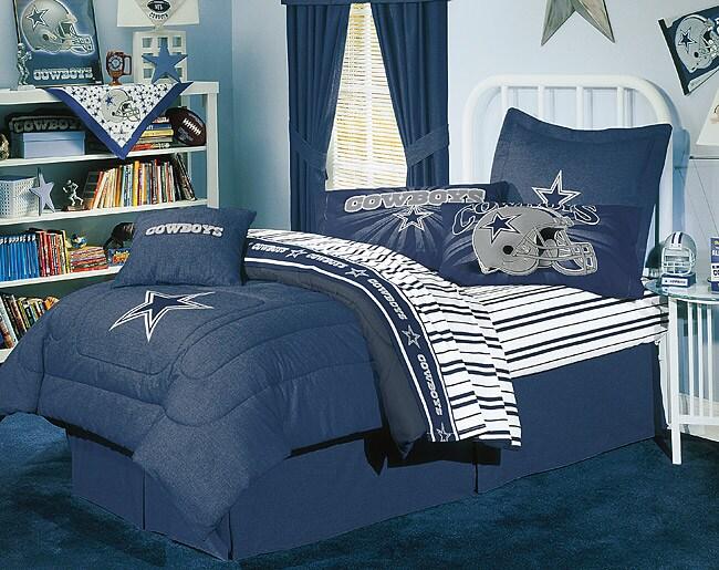 NFL Dallas Cowboys Comforter Set (Full)