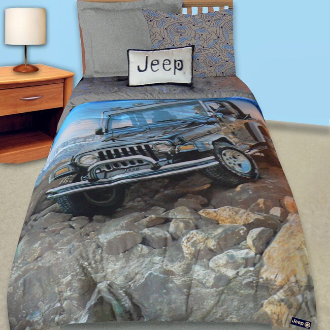 Jeep Off Road Twin Size Comforter Set 11518991