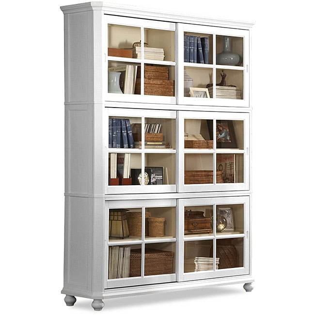Aspen White Bookcase Overstock Shopping Great Deals On