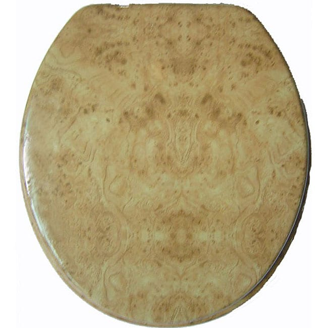 Wood Grain Molded Wood Toilet Seat 11525423 Overstock