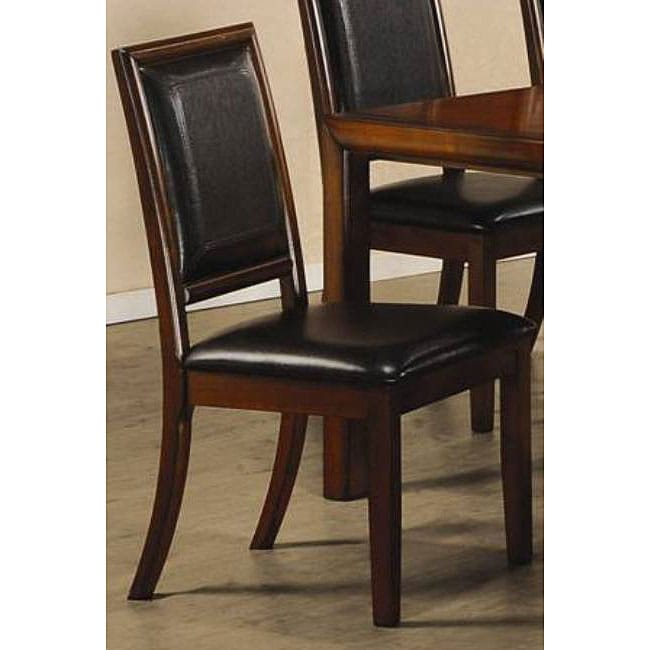 Dining Chairs Deals: Sierra Walnut Dining Chairs (Set Of 2)