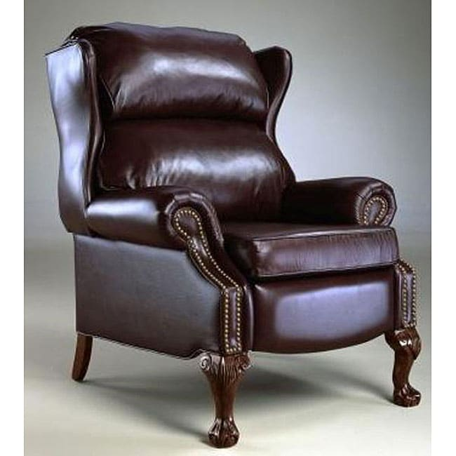 Reclining Wing Chair Overstock Shopping Big Discounts