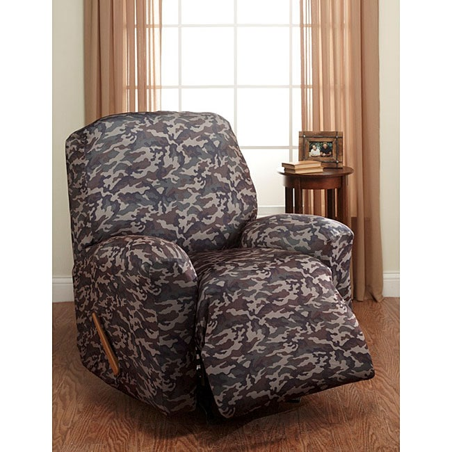 Camouflage Stretch Recliner Slipcover 11722159