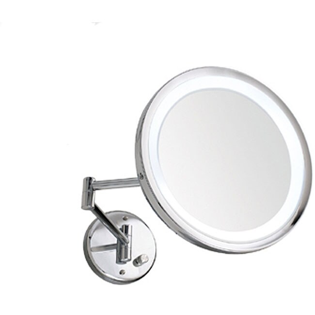 Danielle Wall Mount 10x Lighted Mirror Overstock