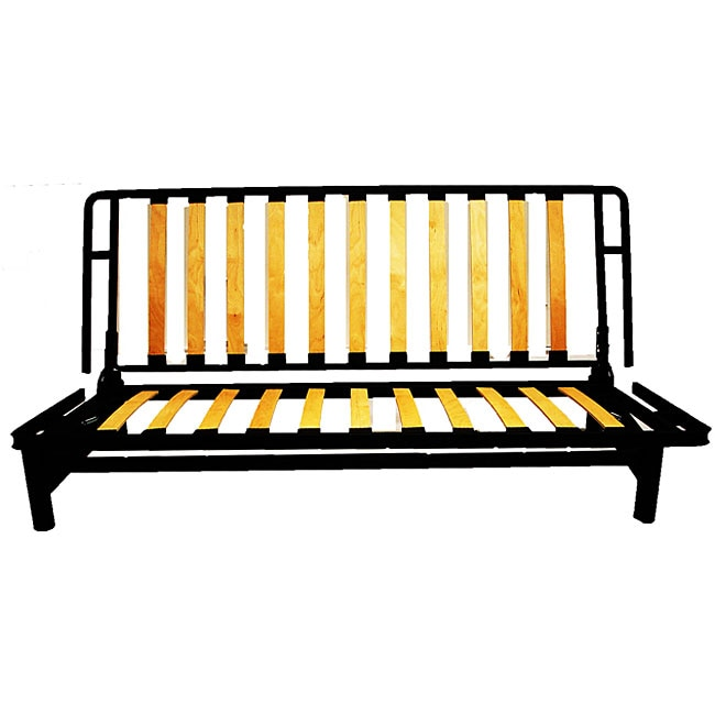 Bi Fold Metal Futon Sofa Bed Frame 11726286 Overstock Com Shopping Great Deals On Futons