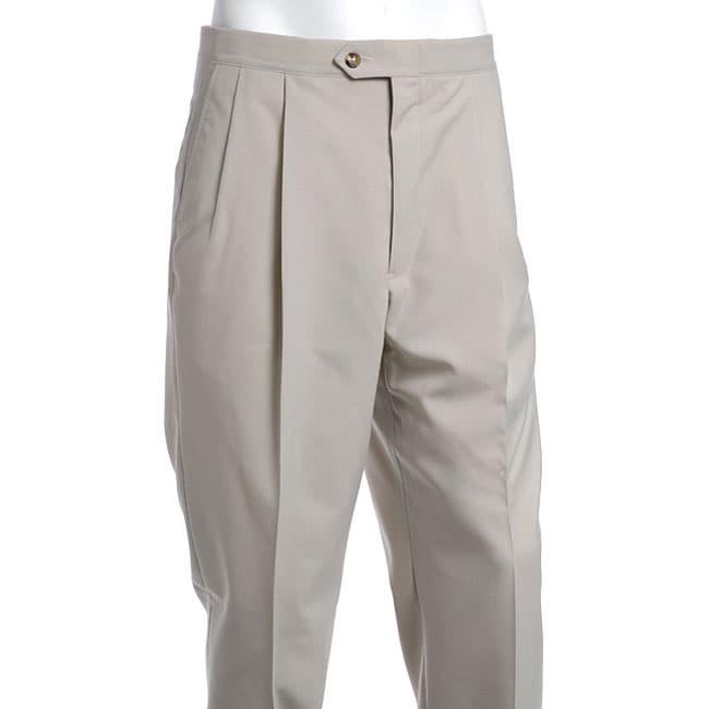 Sansabelt Men S Two Pleat Beltless Pants 11746990