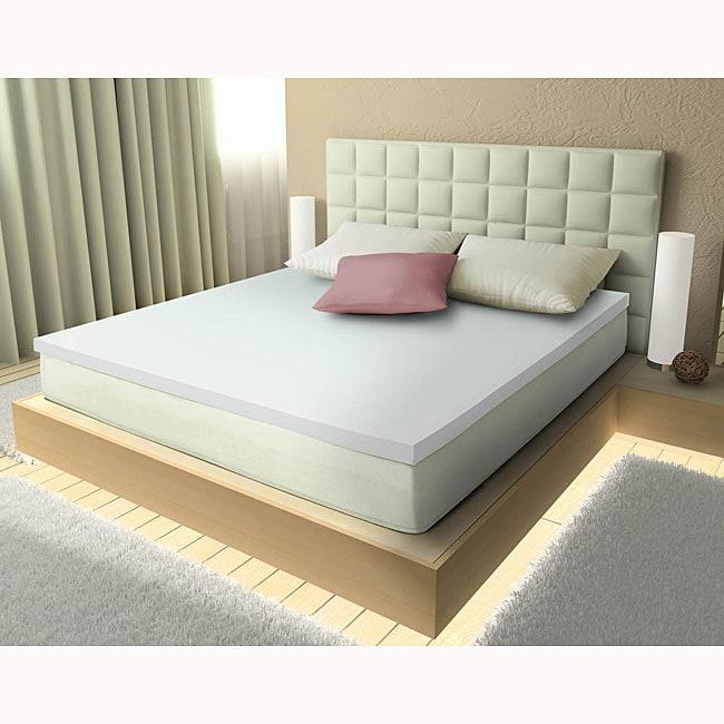 Comfort Dreams Aerus Natural Memory Foam 3 Inch Mattress