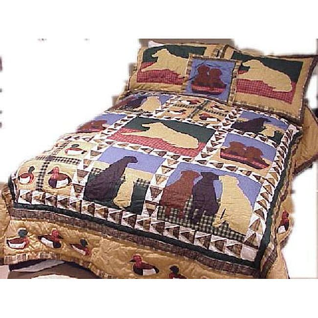 Hunt Themed Cotton Quilt 11798468 Overstock Com