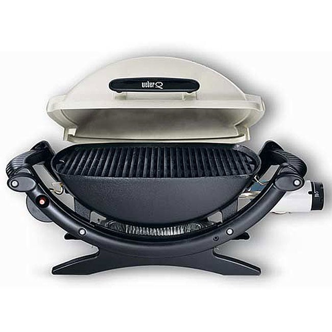 Weber Q 100 Table Top Gas Grill 11890963 Overstock Com